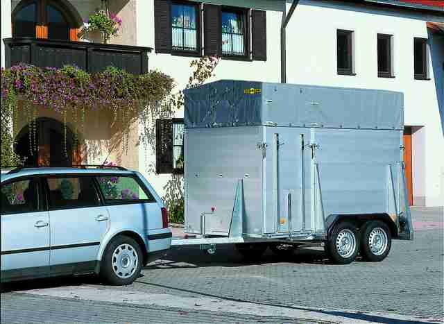 gro ansicht pkw anh nger vieh anh nger alu aufbau 2000. Black Bedroom Furniture Sets. Home Design Ideas